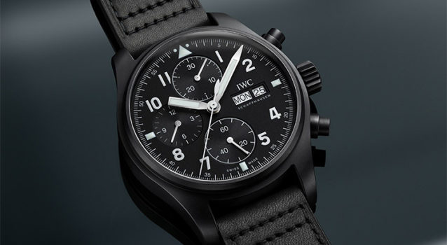 "IWC Unveils An Exclusive Pilot's Watch Chronograph Edition ""Tribute To 3705"""