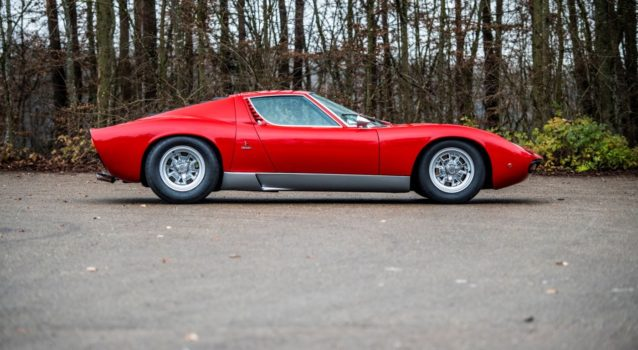 Lamborghini Miura SV & Rod Stewart's Countach Reach Record Prices at RM Sotheby's