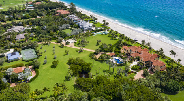 Oracle Co-Owner Buys Third Largest Oceanfront Compound in Palm Beach