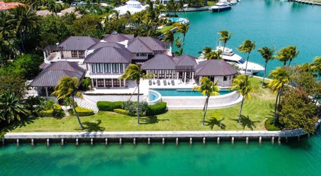 Motor Mansions: A Miami Supercar Mansion On The Water
