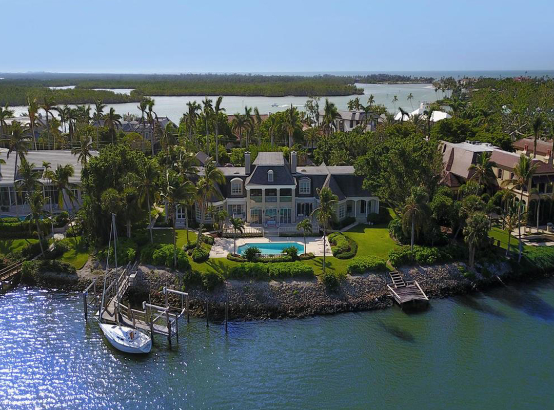 Motor Mansions: A Naples Waterfront Property Paired With Modern Supercars