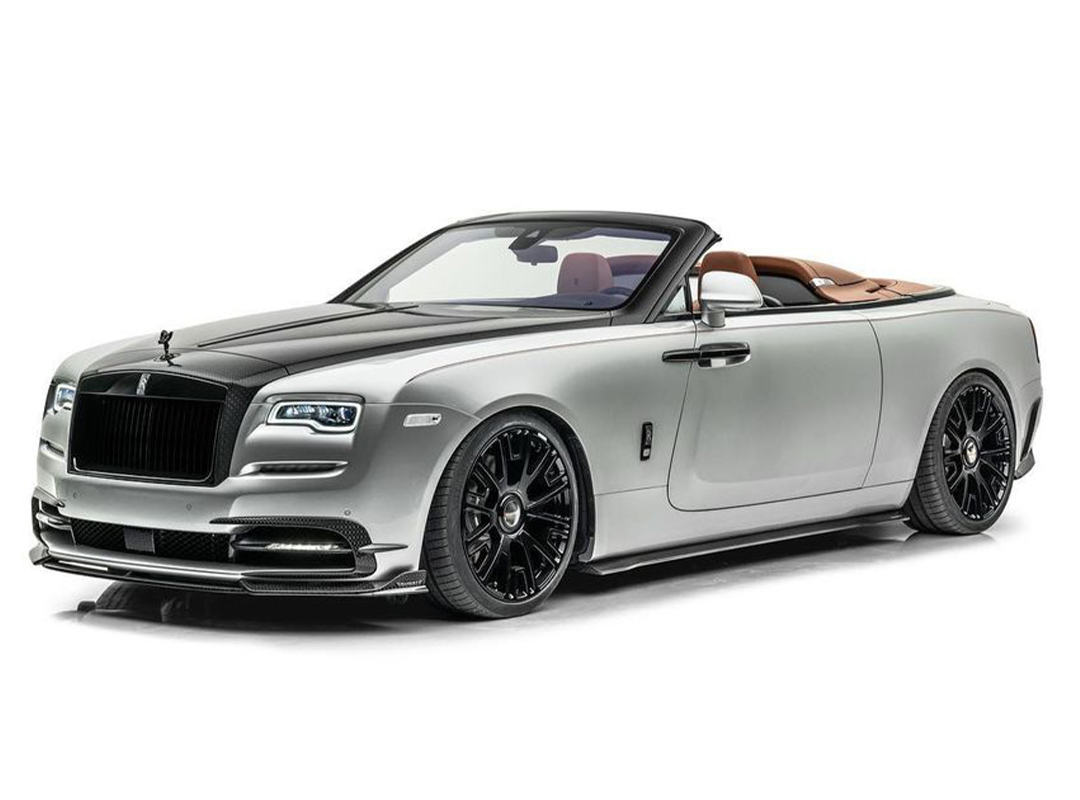 The All-New Mansory Softkit For The Rolls-Royce Dawn & Wraith